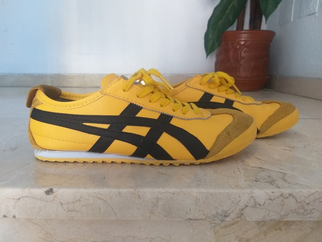 onitsuka tiger mexico 66 black and pink yellow zalando bershka