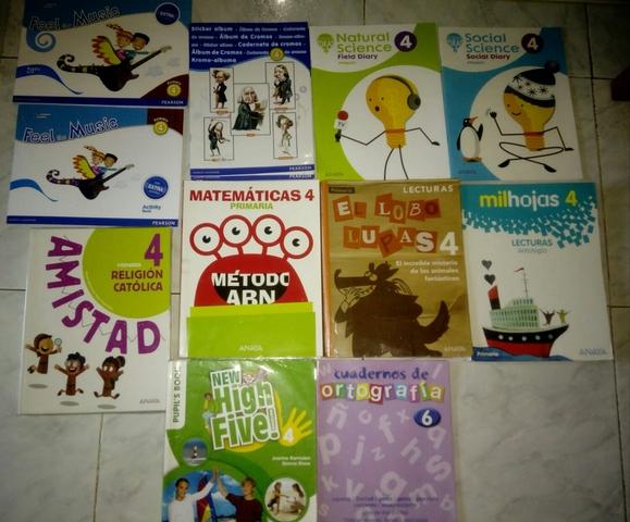 LIBROS  DE 4° DE PRIMARIA ANAYA - foto 1