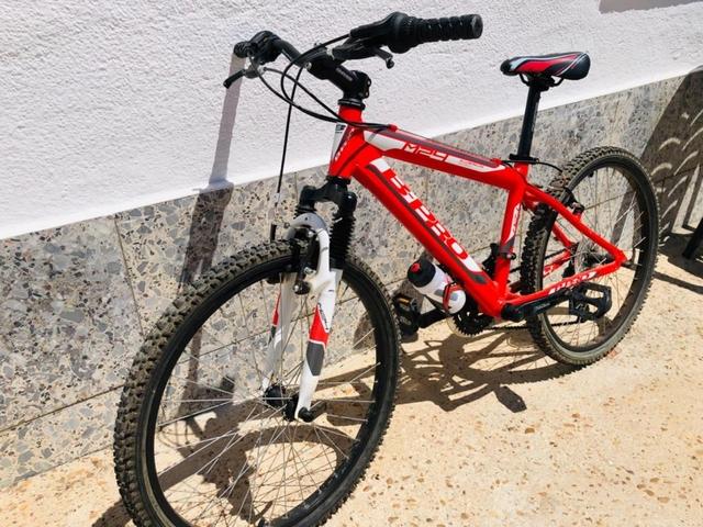 Bicicleta De Niño De 24 Pulgadas