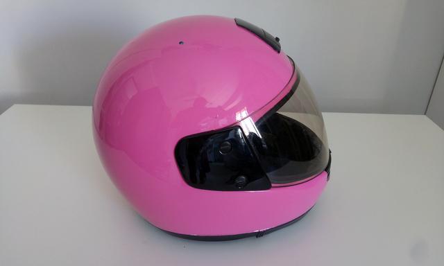 Casco Mujer Rosa