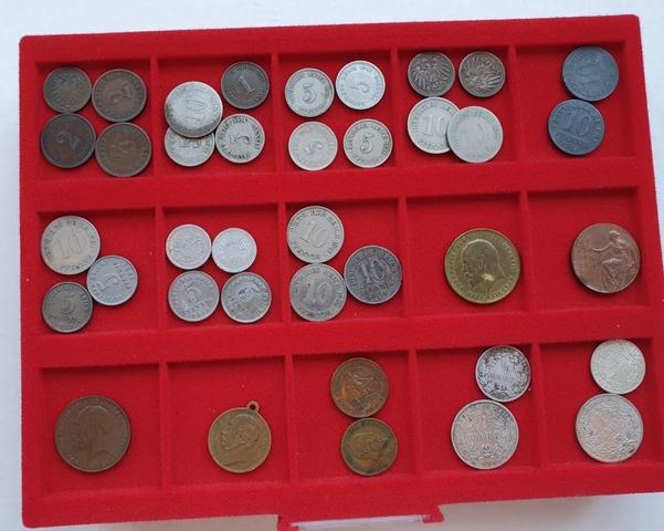 38 Monedas Y Medallas Alemanas. Imperio