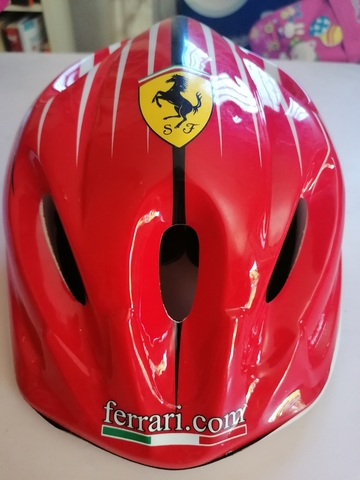Casco Para Bicicleta Niño/A Mi Ferrari