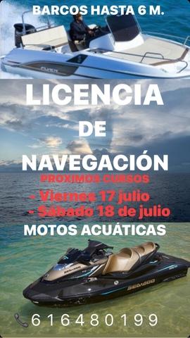 LICENCIA DE NAVEGACIÓN - foto 1
