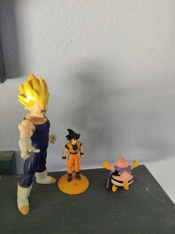 Figuras Dragon Ball Z Vegetta, Bu Y Goku