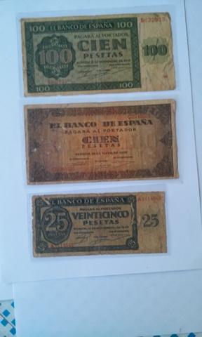 Billetes Guerra Civil