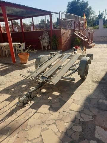 REMOLQUE 3 MOTOS - foto 1