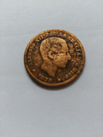 Moneda De 5 Centimos De 1878