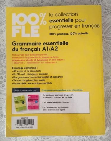 GRAMMAIRE ESSENTIELLE DU FRANÇAIS A1/A2 - foto 2