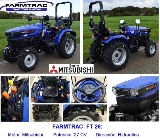 FARMTRAC - TL 26.  NUEVO,  MATRICULABLE - foto 1