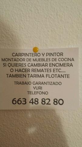 CARPINTERO Y PINTOR ECONÓMICO Y SERIO.  - foto 1