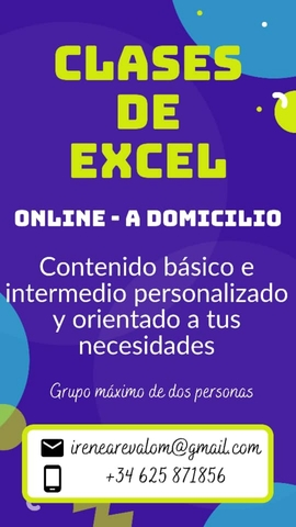 CLASES DE EXCEL - foto 1