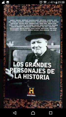 LOS GRANDES PERSONAJES DE LA HISTORIA - foto 1