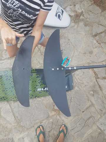 HIDROFOIL CON 2 ALAS + TABLA - foto 1