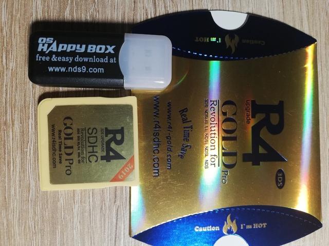 TARJETA R4 GOLD 3/DS/I/XL - foto 1