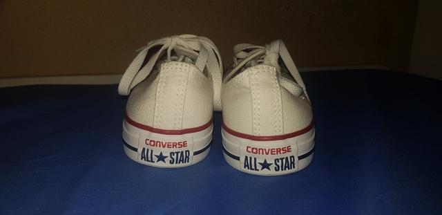 converse all star blancas mujer 39