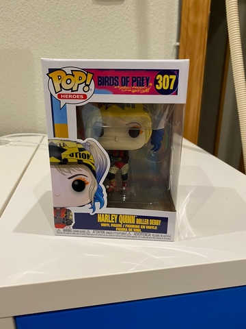 Funko Pop Harley Quinn Roller Derby (New