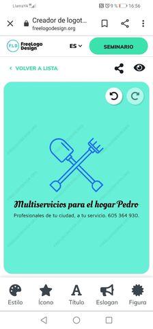 MULTISERVICIOS PARA EL HOGAR PEDRO.  - foto 1