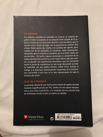 LIBRO LA RATONERA - foto 2