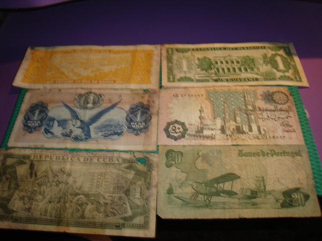 Billetes Antiguos Distintos Paises