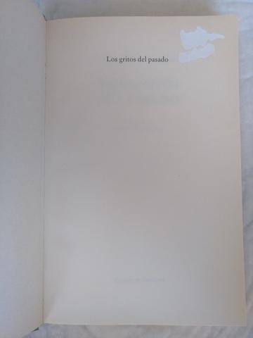 LOS GRITOS DEL PASADO.  LIBRO - foto 3