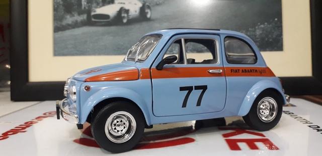 Fiat Abarth 695 Ss Escala 1:18