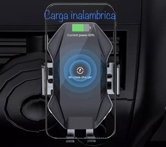 SOPORTE Y CARGADOR INALAMBRIC SMARTPHONE - foto 5