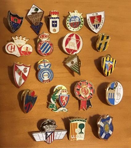 Lote De Pins Equipos De Futbol