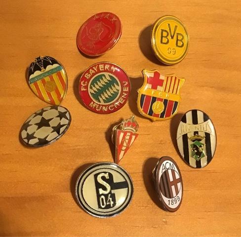 Lote De Pins Futbol