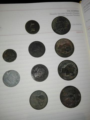 Monedas Varias Antiguas