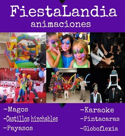 ANIMACIONES CON MAGOS PINTACARAS PAYASOS - foto 1