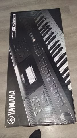 PIANO YAMAHA PSR-E463.  - foto 1