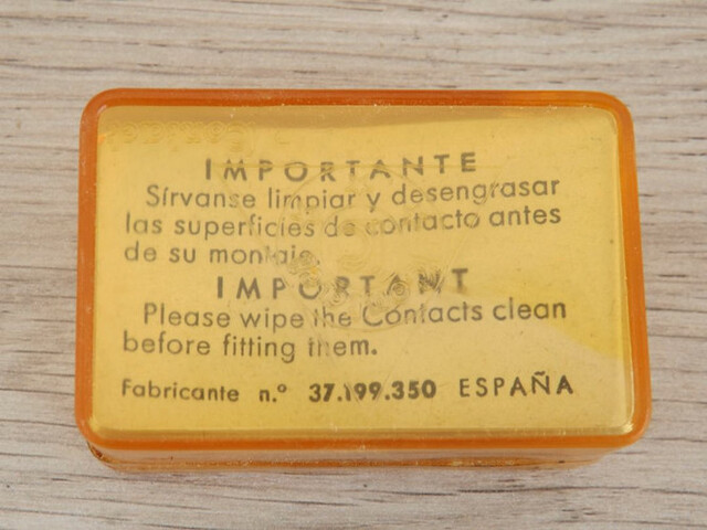 JUEGO DE PLATINOS PARA SEAT 124 SPORT - foto 6