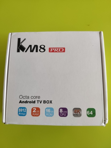TV BOX KM8 PRO SOC 912,  16GB MEMORIA - foto 1