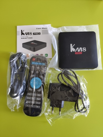 TV BOX KM8 PRO SOC 912,  16GB MEMORIA - foto 3