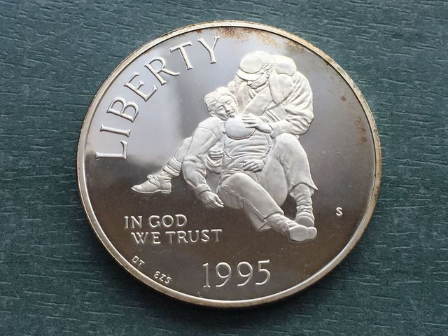 Usa Dolar Plata 1995 Guerra Civil Usa