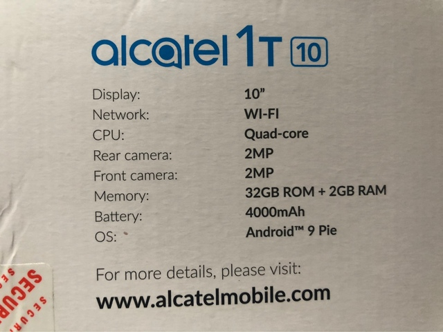 TABLET ALCATEL 1T10 - foto 2