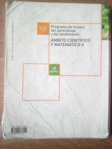 LIBRO ÁMBITO CIENTÍFICO Y MATEMÁTICO II - foto 2
