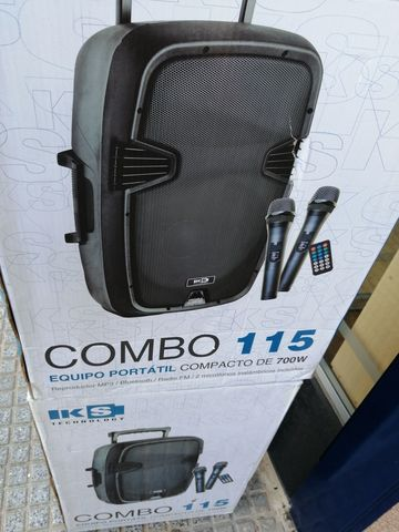 "COMBO 15\"" USB MP3 BATERIA 2 MICROFONOS - foto 3"