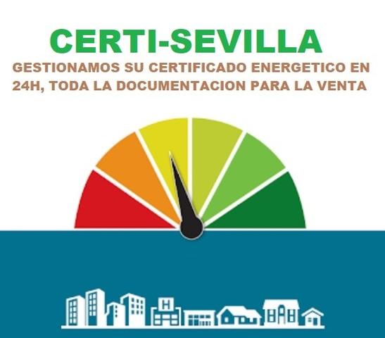 CERTIFICADO ENERGÉTICO SEVILLA Y PROVINC - foto 1