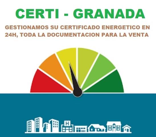 CERTIFICADO ENERGÉTICO GRANADAY PROVINCI - foto 1
