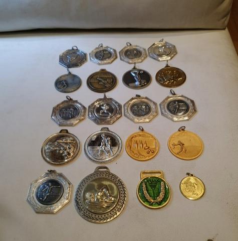 Colección 20 Medallas