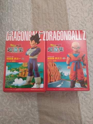 Lote Krilin Y Vegeta Dragón Ball Nuevas