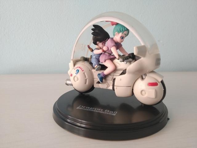 Figura Nueva Goku Y Bulma