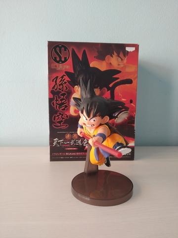 Figura Nueva Goku Niño Con Caja