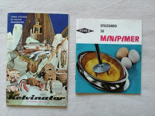 CATALOGOS DE 1960 MINIPIMER Y KELVINATOR - foto 1