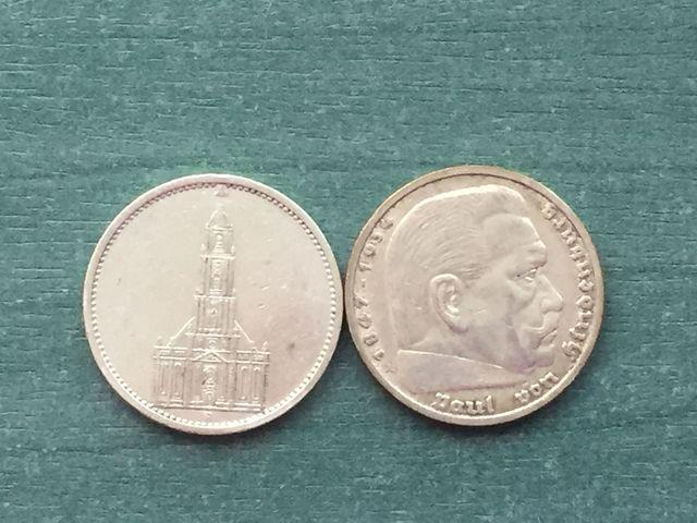 Alemania Monedas Plata 1935