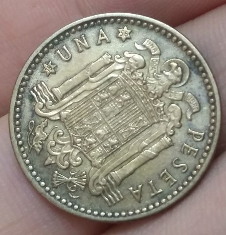 Moneda 1 Peseta 1953*56 Franco