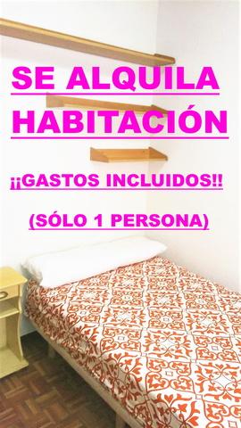 HABITACION CON GASTOS INCLUIDOS!! - foto 1