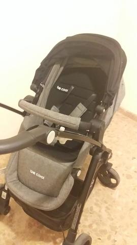 Be Cool Cochecito para bebé 3 en 1, de doble cara, Bandit