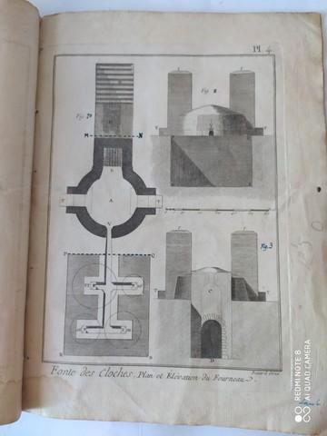7 GRABADOS,  FABRICACION CAMPANAS,  1751 - foto 2